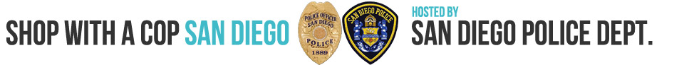 Shop with a Cop San Diego 2015, hosted by Sam Diego Police Department