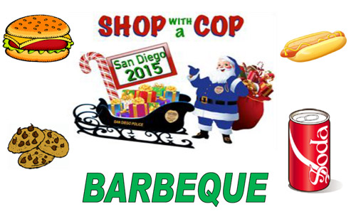 Shop with a Cop Barbecue 2015