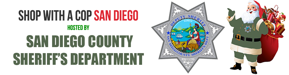 Shop with a Cop San Diego 2016, hosted by San Diego County Sheriff's Department